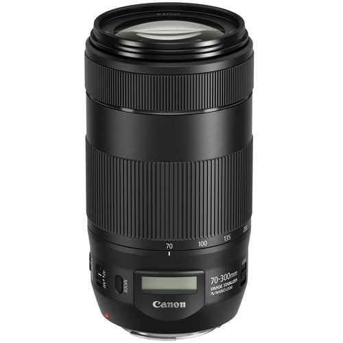 Canon EF 70-300mm f/4-5.6 IS II USM Lens (International Model)