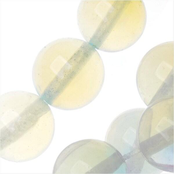 Opalite Gemstone Beads, Round 10mm, 15.5 Inch Strand, Opal