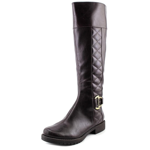 Life Stride Marvelous Wide Calf Women W Round Toe Synthetic  Knee High Boot