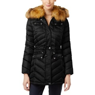 Laundry by Shelli Segal Womens Puffer Coat Quilted Down/Feather Filled - XxL