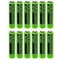 NIMHAAA (12-Pack) NiMh AAA Batteries 2-Pack