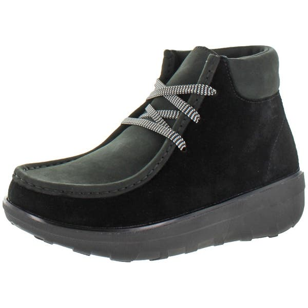 hot sale online 66be9 148fc FitFlop Women's Chuk Kamoc Suede Ankle Boots