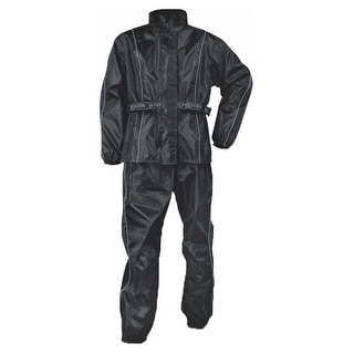 Womens Lightweight Water Resistant Oxford Nylon Rain Suit