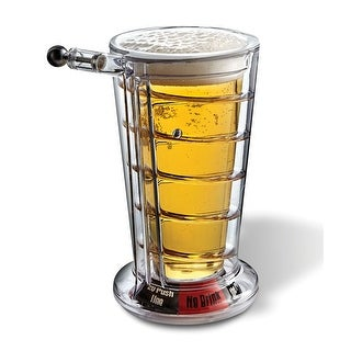 Barbuzzo Pinball Pint Glass, Clear