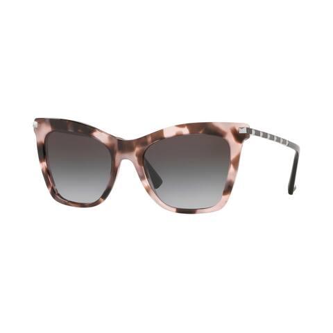 Valentino VA4061 30508G 54 Pink Havana Woman Cat Eye Sunglasses