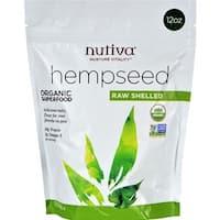 Nutiva - Organic Shelled Hempseed ( 1 - 12 OZ)