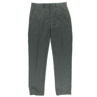 Ryan Seacrest Mens Wool Pinstripe Dress Pants - 32/30