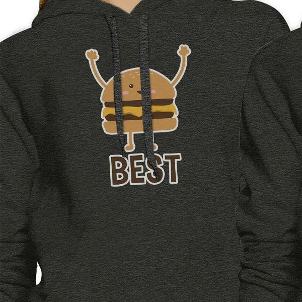 Details about  /Hamburger And Fries BFF Pullover Hoodies Matching Gift Best Friends