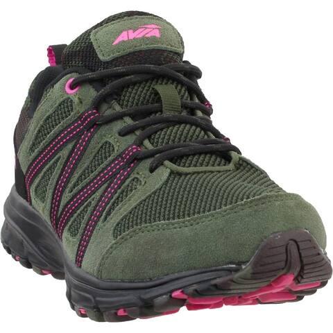 Avia Vertex Womens Running Sneakers Shoes - Green