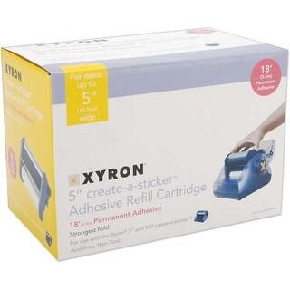 """Xyron 500 Refill Cartridge-5""""X18' Permanent"""