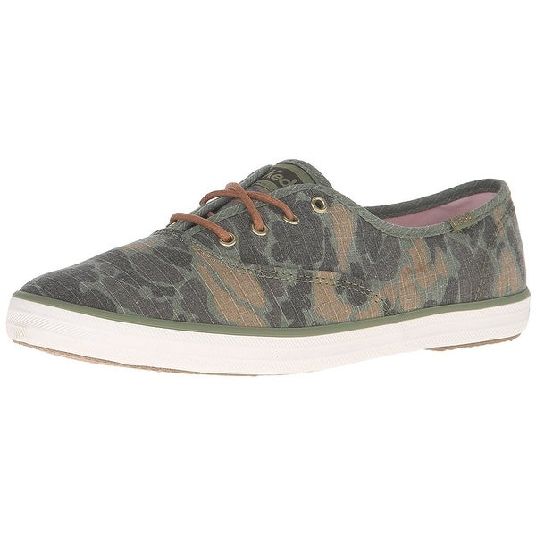 Keds Women's Champion Camo Ripstop Fashion Sneaker