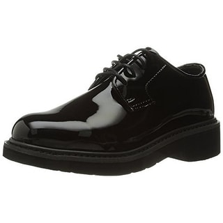 Rocky Mens Pro-Cell Professional Patent Derby Oxfords - 4