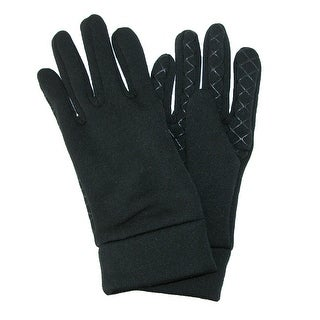 Grand Sierra Men's Fleece Moisture Wicking Sports Glove - Black
