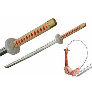 "39"" Samurai Foam LARP Sword Tan And Red - Multi"
