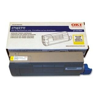 Oki 44318601 Yellow Toner For Series C711 Printers - Type C16 - 11.5K Yield