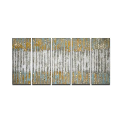 Driftwood' 5c Wrapped Canvas Wall Art Set by Norman Wyatt Jr.