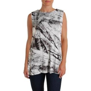 Helmut Lang Womens Jersey Sleeveless Tank Top