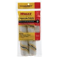 "Whizz 58016 Paint Roller Refill, 6"" x 1/2"", 2 Pack"
