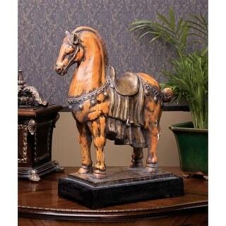 EMPERORS TANG HORSE DESIGN TOSCANO Basil Street tang horse tang dynasty horse