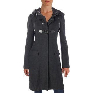 French Connection Womens Toggle Coat Fall Quilted - 12