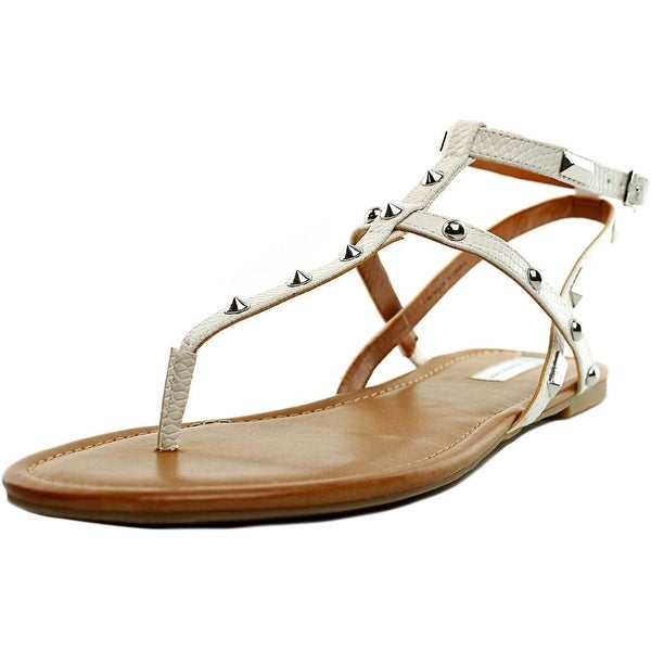INC International Concepts Mirabia 2 Women Open Toe Synthetic White Thong Sandal