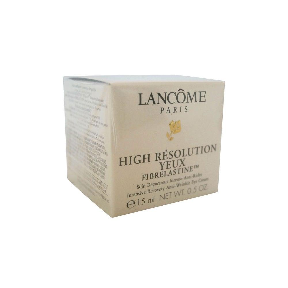 Lancome High Resolution Yeux Fibrelastine 0.5 OZ (Black - Fine Line & Wrinkles)