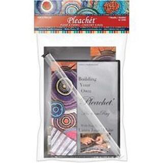 - Pleachet Rug Needle; How-To Booklet & DVD