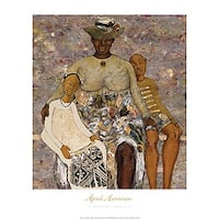 ''A Resting Place II'' by April Harrison African American Art Print (30 x 24 in.)