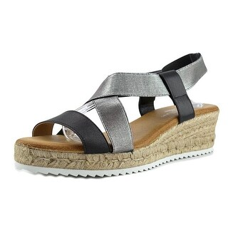 Eric Michael Sarah Open Toe Synthetic Wedge Sandal|https://ak1.ostkcdn.com/images/products/is/images/direct/0dfc3952938e5cc5668467cdd69831298ad28c7e/Eric-Michael-Sarah-Women-Open-Toe-Synthetic-Silver-Wedge-Sandal.jpg?_ostk_perf_=percv&impolicy=medium