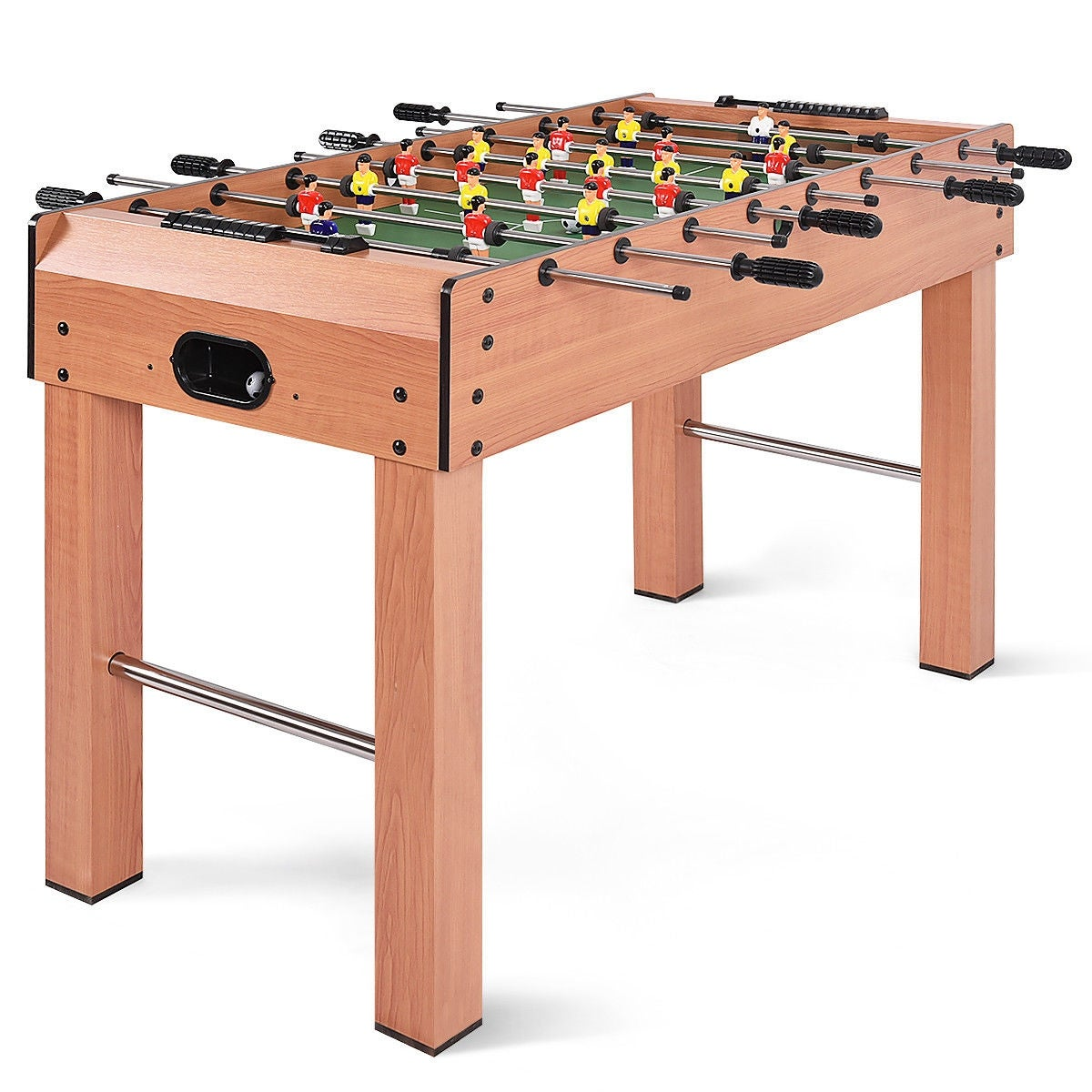 Costway 48 Foosball Table Compeion Soccer Arcade Sized Football Sports Indoor As Pic