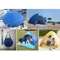 Portable Beach Tent Outdoor Sun Shelter 90-percent UV Protection - Thumbnail 9