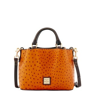 Dooney & Bourke Ostrich Mini Barlow (Introduced by Dooney & Bourke at $248 in Aug 2016) - Tan