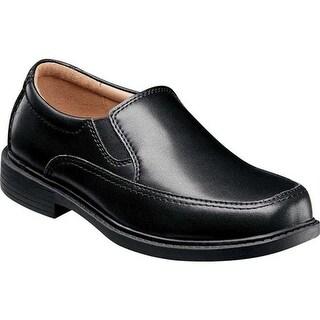 Florsheim Boys' Bogan Jr. II Loafer Black Leather