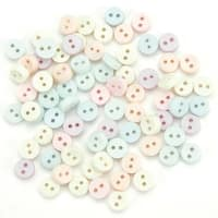 Tiny Buttons - Pastel - Dress It Up Embellishments