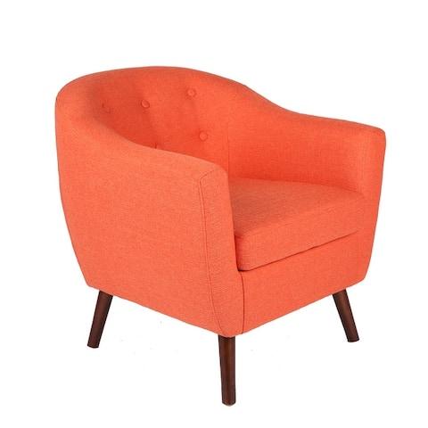 Carson Carrington Junsele Linen Upholstery Club Chair