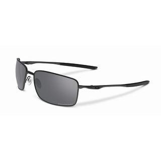 Oakley Square Wire OO4075-04 Polarized Sunglasses - Black