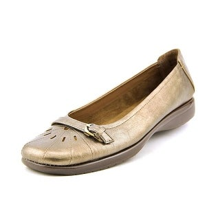 A2 By Aerosoles Ricotta Women Round Toe Synthetic Bronze Flats