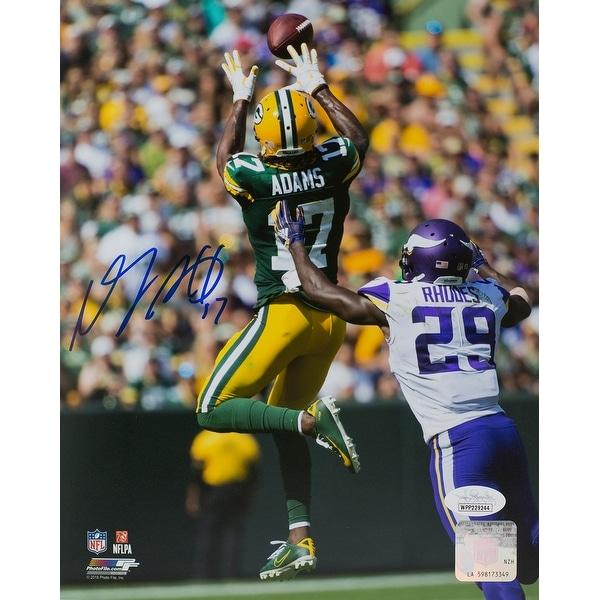 4a7816d1e40 Shop Davante Adams Signed 8x10 Green Bay Packers Action Photo JSA ...