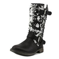 Volatile Kids Seaquin Girl Black Boots
