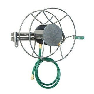 Yard Butler SRWM-180 Wall Mount Swivel Hose Reel, 100' Capacity