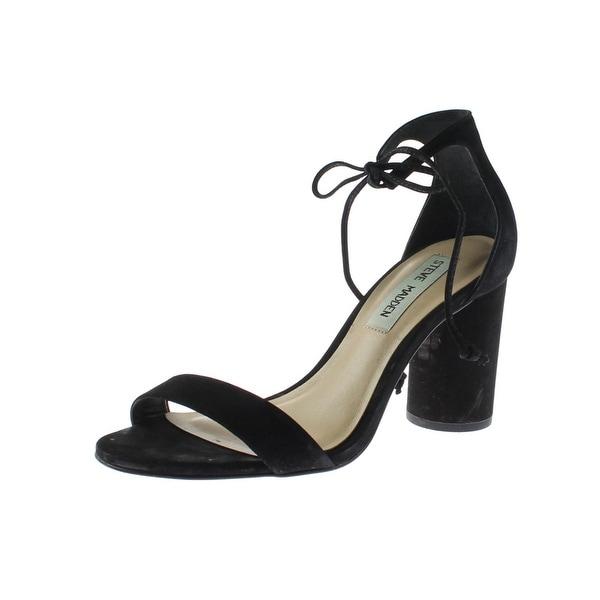 Steve Madden Womens Shays Dress Sandals Nubuck Open Toe