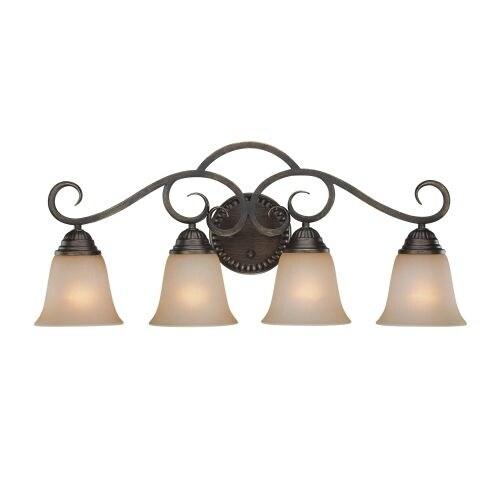 Jeremiah Lighting 26004 Gatewick 4 Light Bathroom Vanity Light - 29 Inches Wide