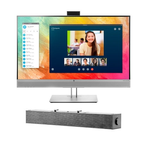 """HP EliteDisplay E273m Monitor with S100 Sound Bar EliteDisplay E273m Monitor"""