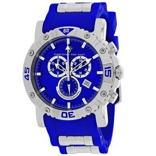 Christian Van Sant Men's Cosenza CV0512 Blue Dial Watch