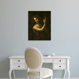 Easy Art Prints Leonardo da Vinci's 'Saint John the Baptist' Premium Canvas Art