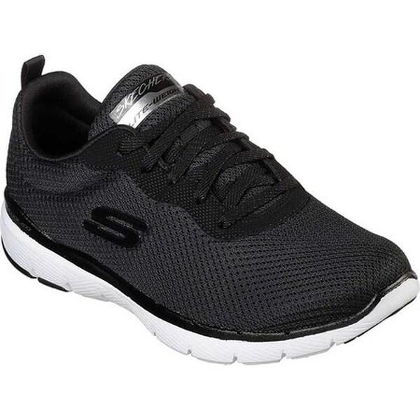 Skechers Women's Flex Appeal 3.0 First Insight Sneaker BlackWhite