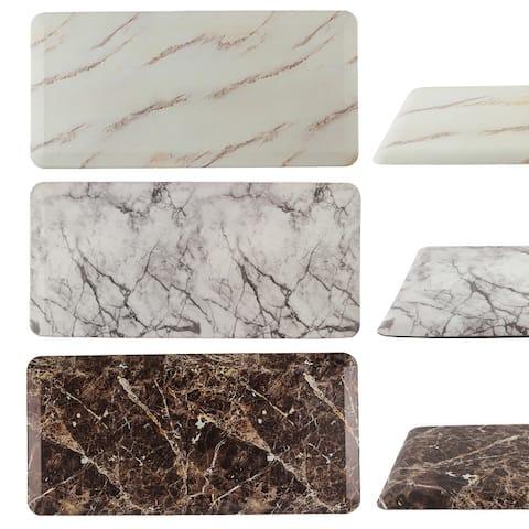 "FRESHMINT Comfort Anti Fatigue Marble Print Kitchen Mat 42 x 20 Inch - 42"" x 20"""