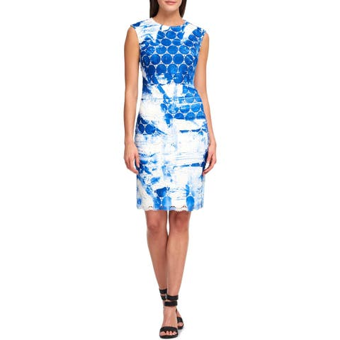 DKNY Womens Special Occasion Dress Sleeveless Above Knee Mini