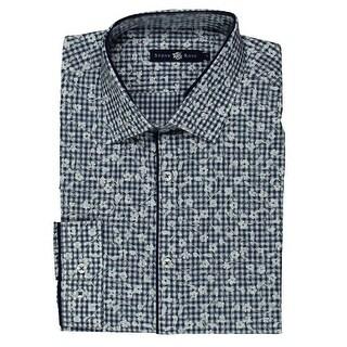 Stone Rose Mens Cotton Long Sleeves Dress Shirt - 3