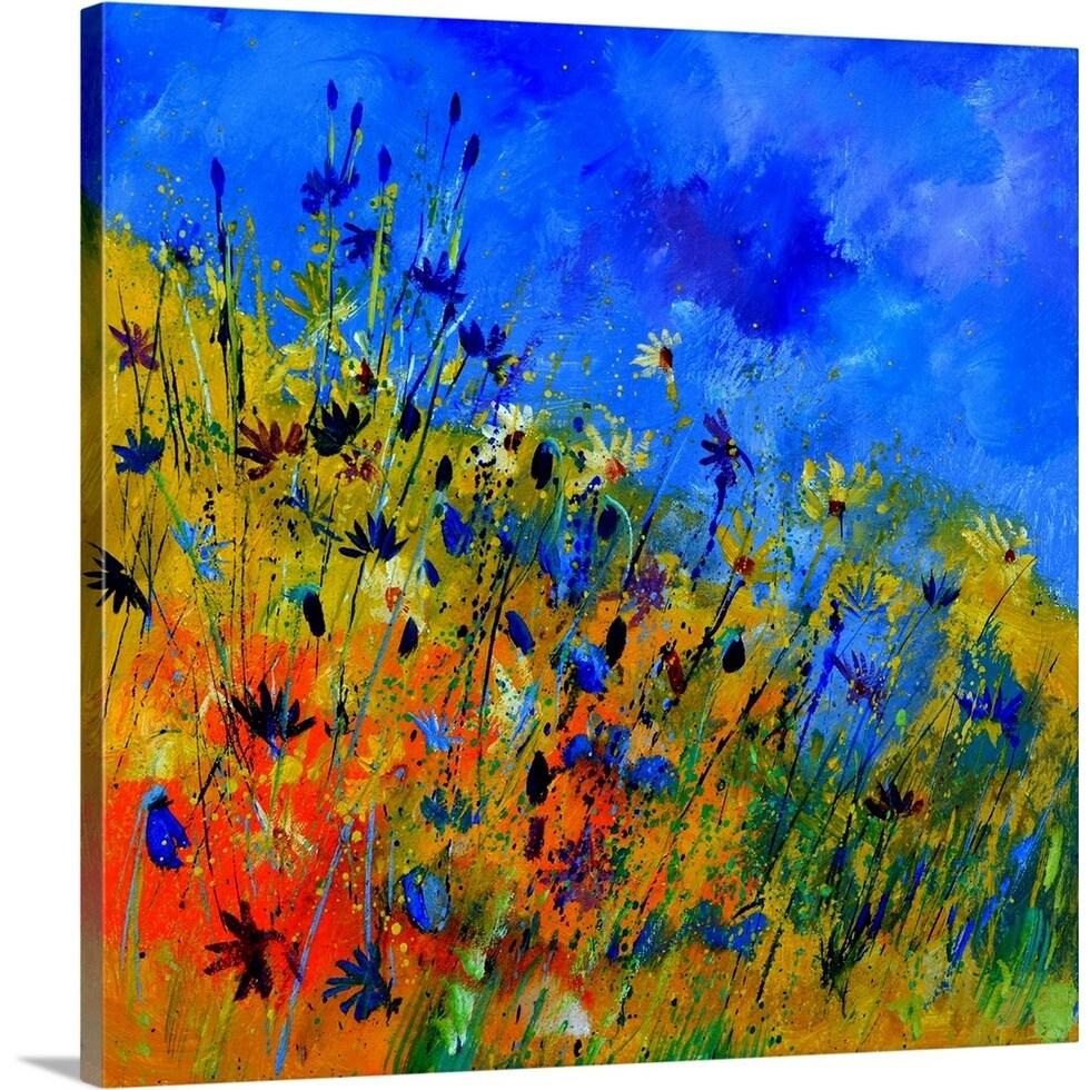 Wild Flowers 36363 Canvas Wall Art Overstock 30182073